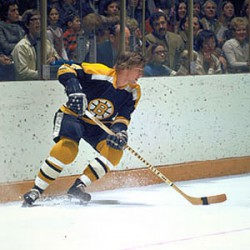 Bobby Orr and his two-strand tape job