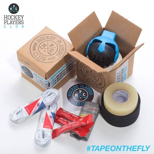 Awesome hockey tape and essentials delivered for just a few bucks a month.