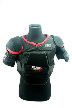 flak hockey shoulder pads