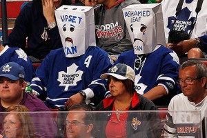 Leafs hockey fan
