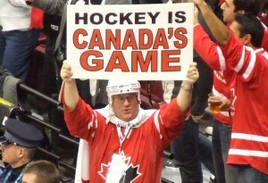 Canadian hockey fan