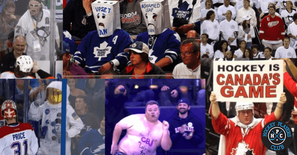 The Types of Fans You Will Find at an NHL Game