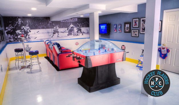 The Best Hockey Man Caves