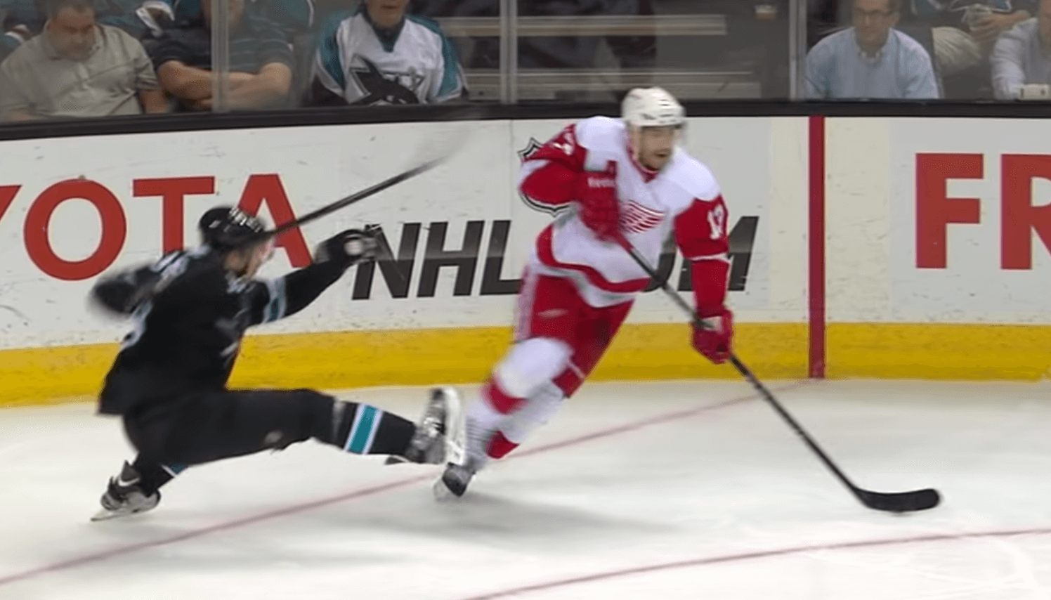 Today in Hockey History Pavel Datsyuk Broke Logan Couture's Ankles | HPC Blog