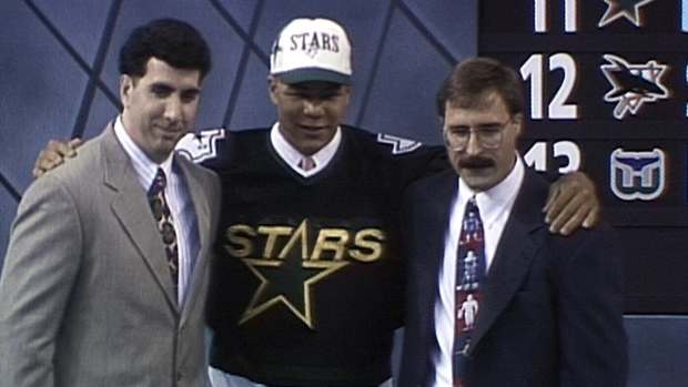 Today in Hockey History- Future Hall of Famer Jarome Iginla is Drafted 11th Overall by the Dallas Stars | Hockey Players Club Blog
