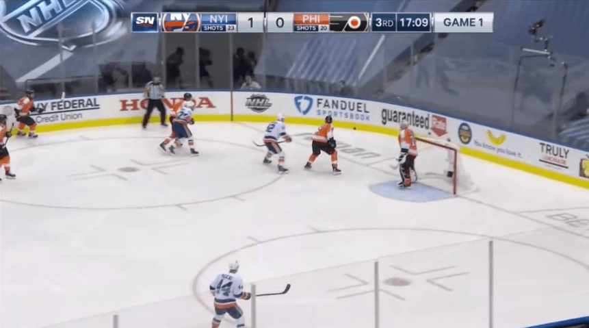 2-1-2 FORECHECK PERFECTLY EXECUTED BY ISLANDERS