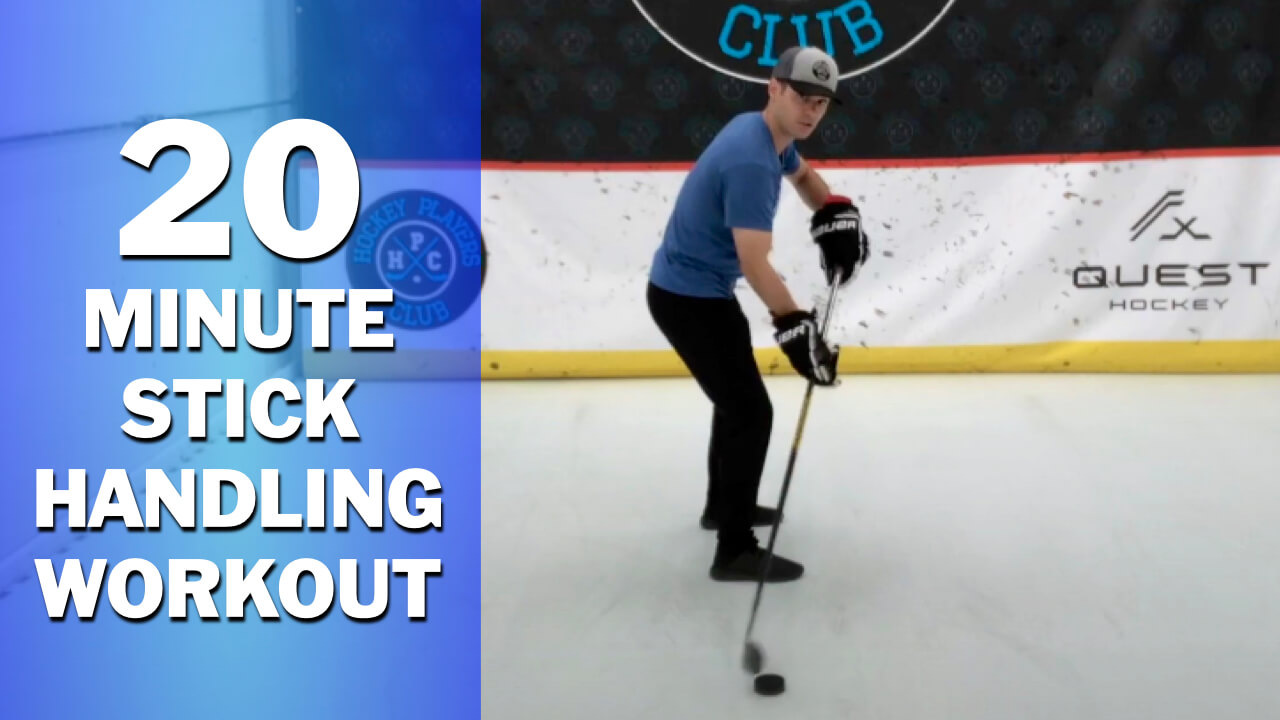 20-Minute Stick Handling Workout Covering 21 Drills to Improve Your Hands