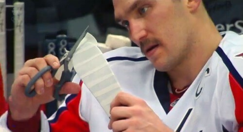 How to Tape Your Hockey Stick Blade Like Alexander Ovechkin
