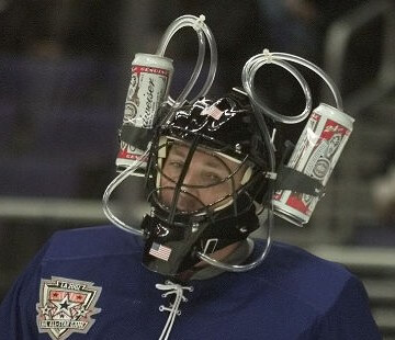 Bud Heavy Bruisers Beer League Goalie | What Your Post Game Beer Says About Your Adult League Team | Hockey Players Club Blog