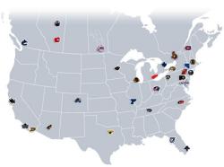 NHL franchises