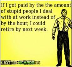 Work woes