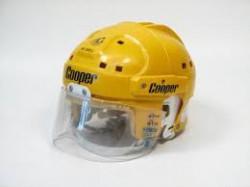Cooper hockey helmet