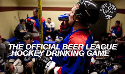The Official Beer League Hockey Drinking Game