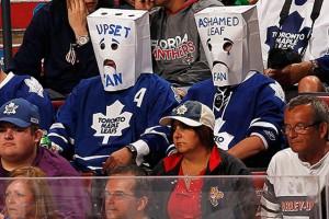 Leafs hockey fan