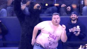 Dancing Hockey Fan