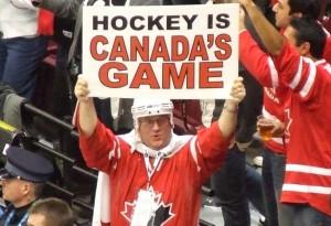 Canadian hockey fan