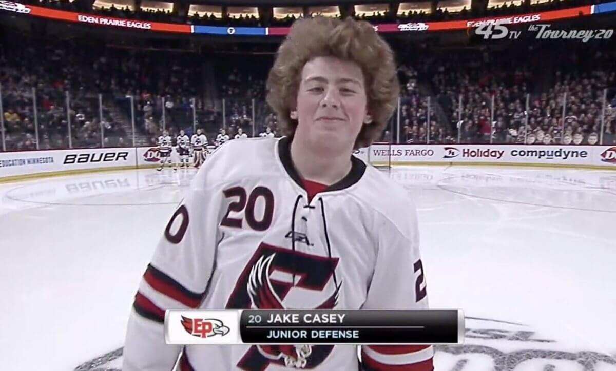 Minnesota State Hockey Tournament Hockey Hair