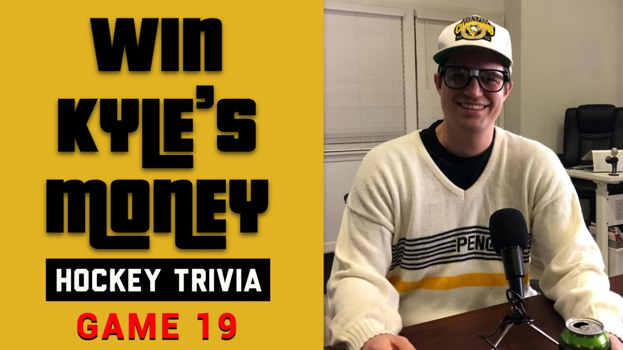 Hockey Trivia Win Kyle's Money Game 19 Hockey Players Club Blog