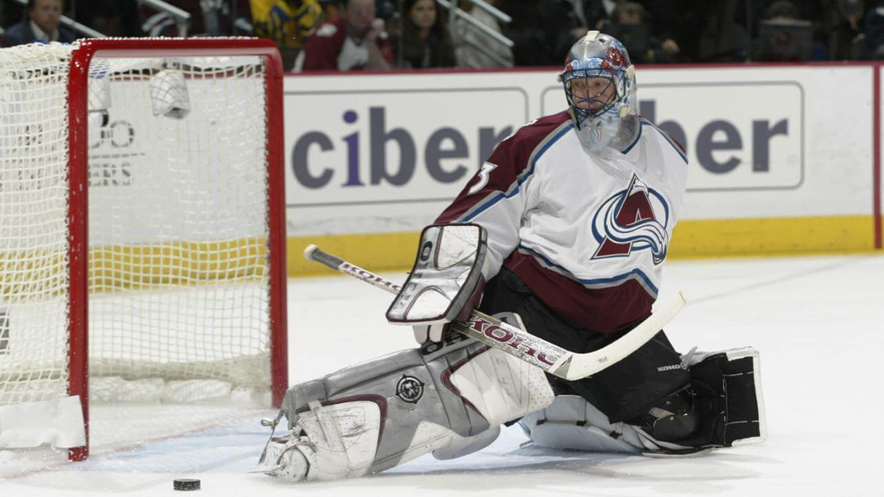 Today in Hockey History- Patrick Roy Becomes the 1st Goalie in the NHL to Record 20 Playoff Shutouts | Hockey Players Club blog