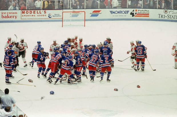 Today in Hockey History- The Rangers Win Their 1st Game 7 in Franchise History | Hockey Players Club Blog