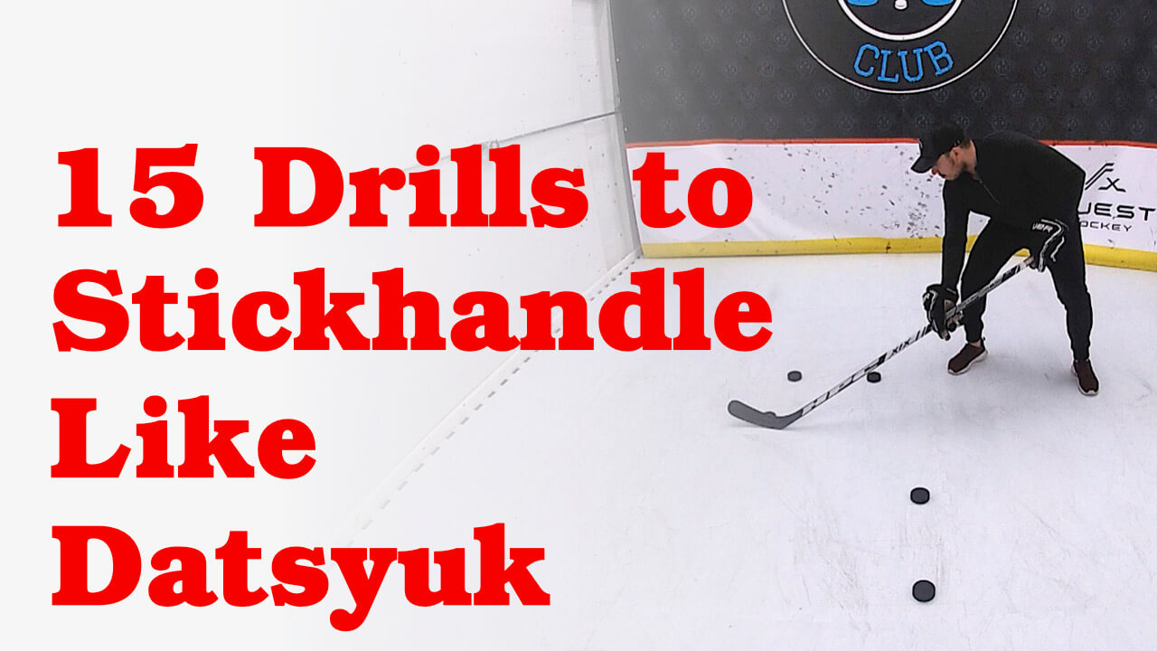 15 Off-Ice Stickhandling Drills to Dangle Like Datsyuk #HockeyAtHome