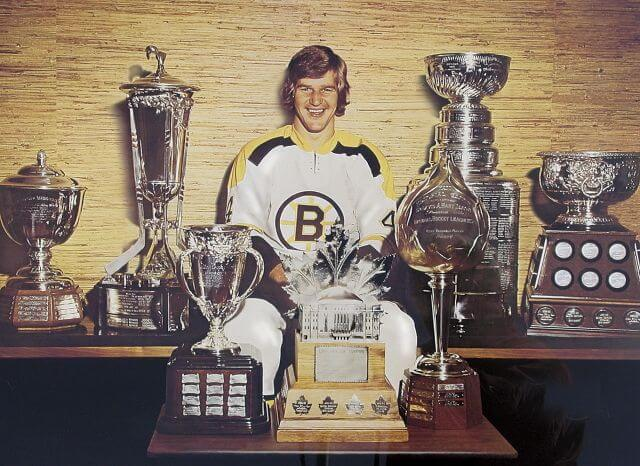 Today in Hockey History- Bobby Orr's Wins his 3rd Straight Hart Trophy & 5th Straight Norris Trophy | Hockey Players Club Blog