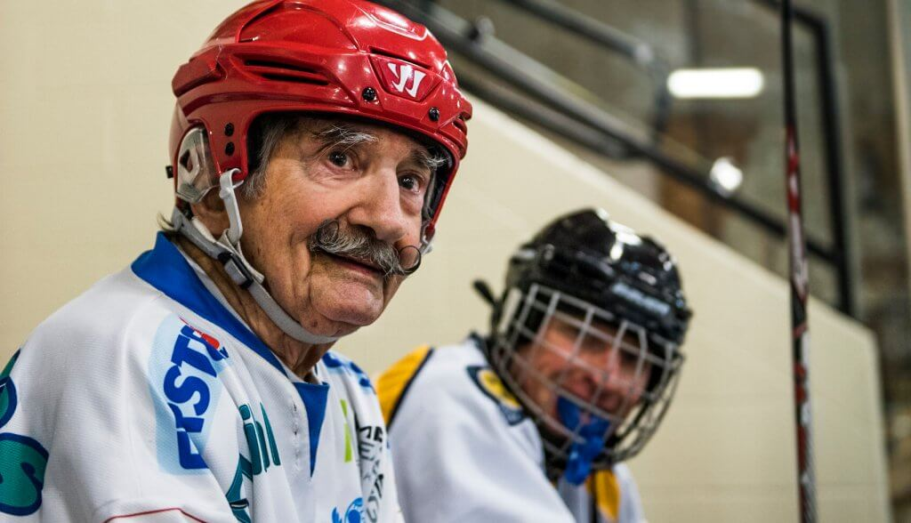 RIP Mark Sertich, the Oldest Known Hockey Player Passes Away at 99 Hockey Players Club Blog