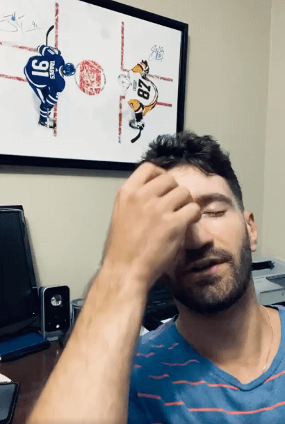 It's tough being a Toronto Maple Leafs Fan