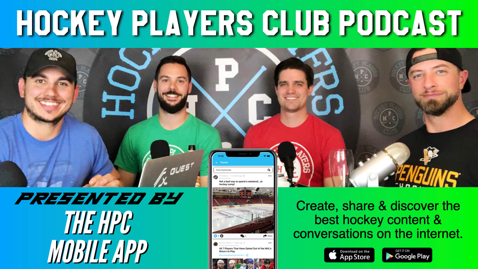 Hockey Players Club Podcast Episode 57: The best hockey talk on the internet.