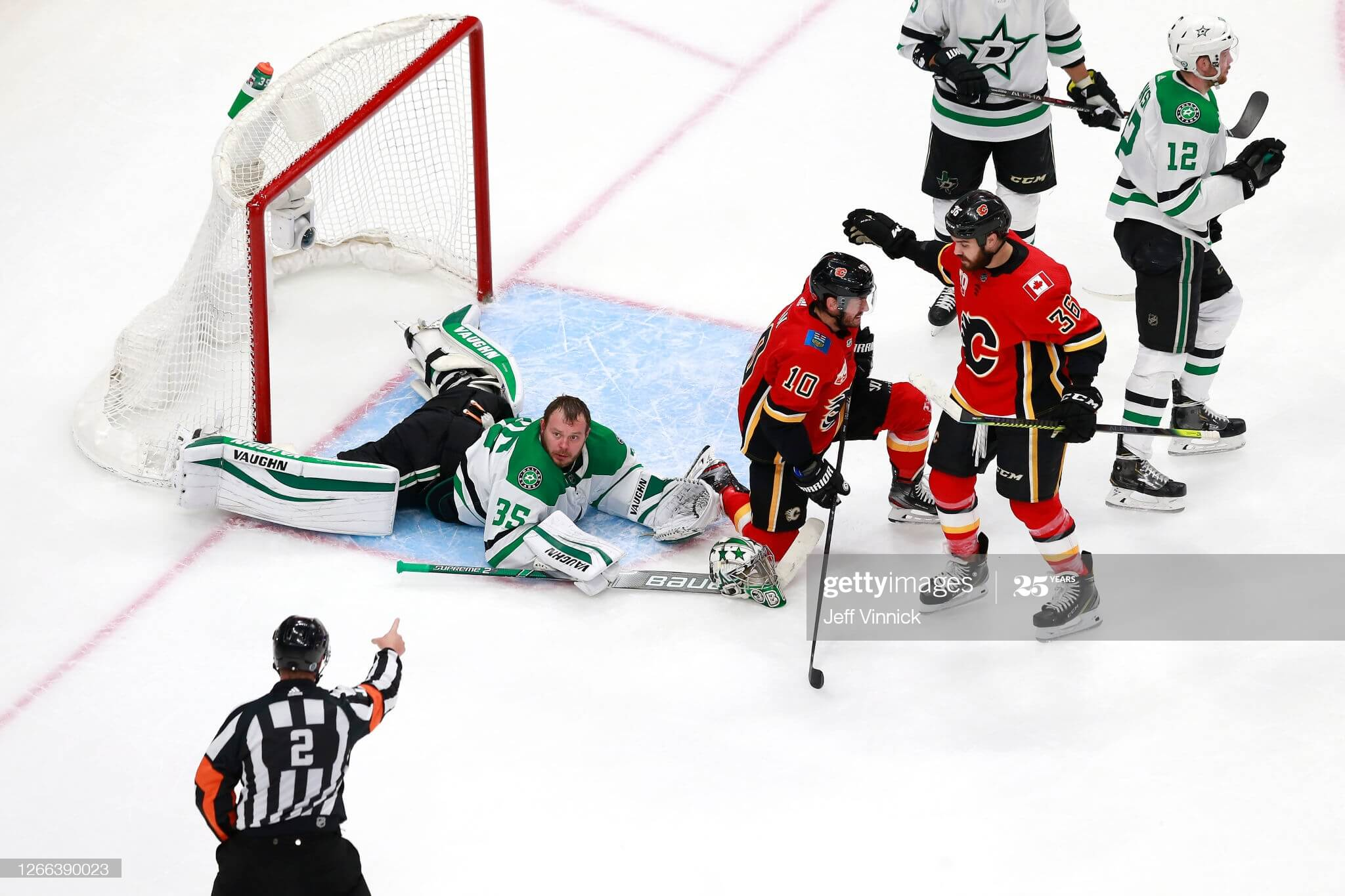 Anton Khudobin's Getty Images Page is a Work of Art