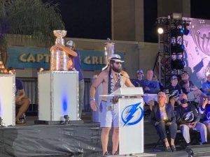 Epic Scenes from the Tampa Bay Lightning's Legendary Stanley Cup Celebration