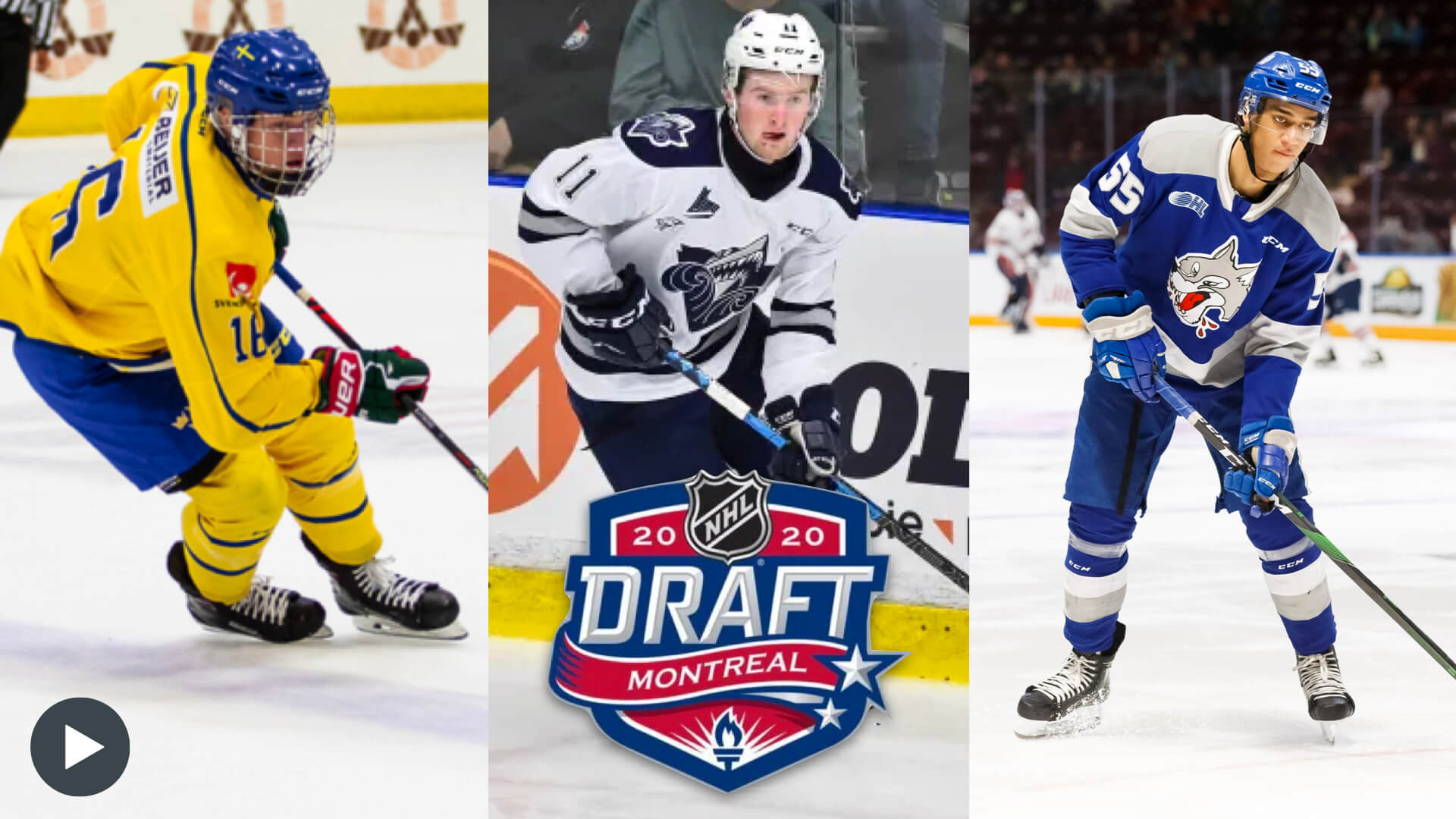 Video Highlights of Top 10 Players Selected in 2020 NHL Draft
